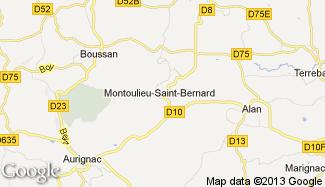 Plan de Montoulieu-Saint-Bernard