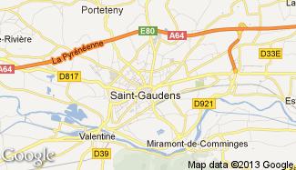 Plan de Saint-Gaudens