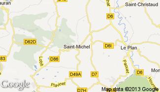 Plan de Saint-Michel
