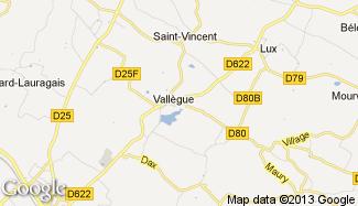 Plan de Vallègue