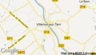 Plan de Villemur-sur-Tarn