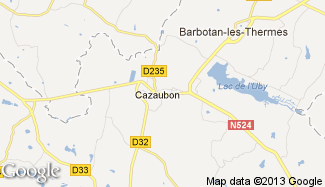 Plan de Cazaubon