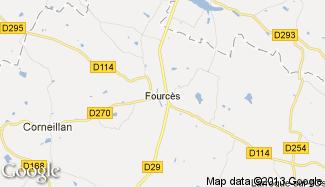 Plan de Fourcès