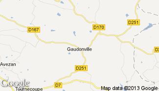 Plan de Gaudonville