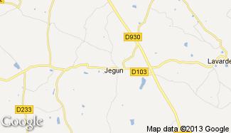 Plan de Jegun