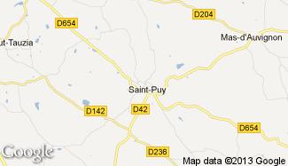 Plan de Saint-Puy