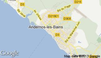 Plan de Andernos-les-Bains