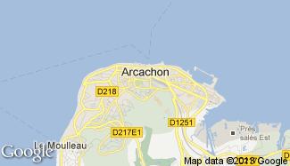 Plan de Arcachon