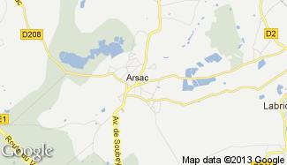 Plan de Arsac