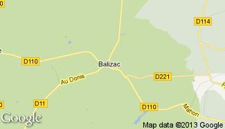 Plan de Balizac