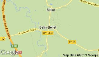 Plan de Belin-Béliet