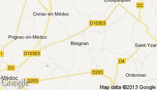 Plan de Blaignan