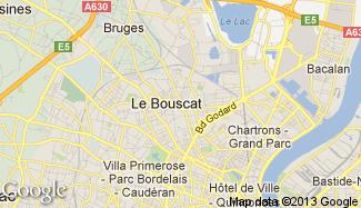 Plan de Le Bouscat