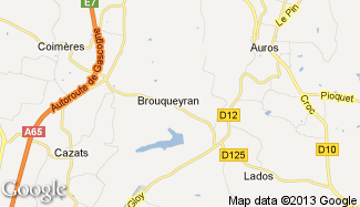 Plan de Brouqueyran