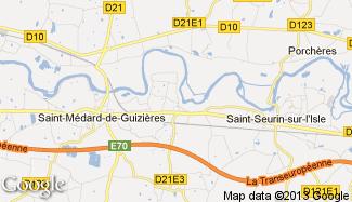 Plan de Camps-sur-l'Isle