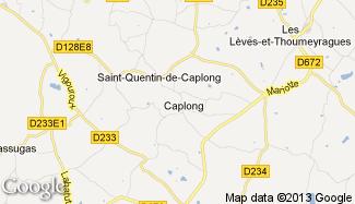 Plan de Caplong