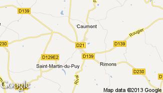 Plan de Castelmoron-d'Albret