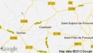 Plan de Castelviel