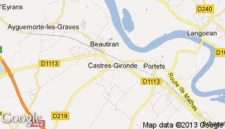 Plan de Castres-Gironde