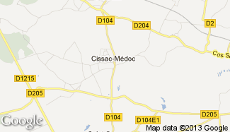 Plan de Cissac-Médoc