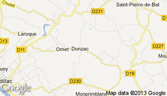 Plan de Donzac