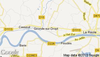 Plan de Gironde-sur-Dropt