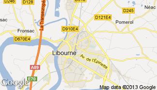 Plan de Libourne