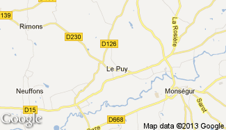 Plan de Le Puy