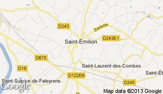 Plan de Saint-Émilion