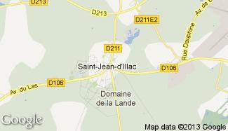 Plan de Saint-Jean-d'Illac