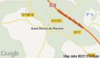 Plan de Saint-Michel-de-Rieufret