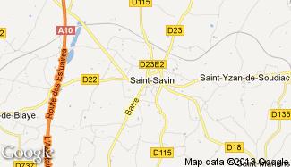 Plan de Saint-Savin