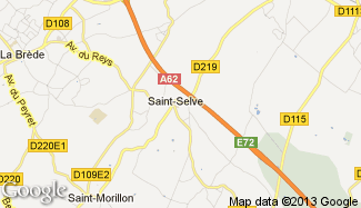 Plan de Saint-Selve