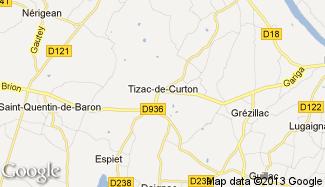 Plan de Tizac-de-Curton