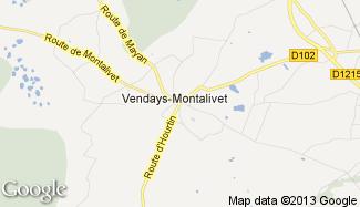 Plan de Vendays-Montalivet