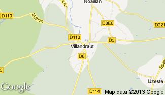 Plan de Villandraut