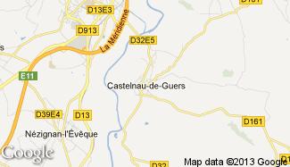 Plan de Castelnau-de-Guers