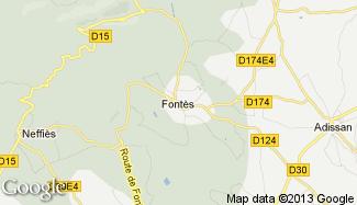 Plan de Fontès