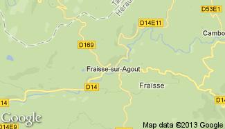 Plan de Fraisse-sur-Agout