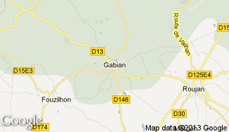 Plan de Gabian