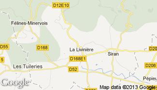 Plan de La Livinière