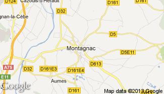 Plan de Montagnac