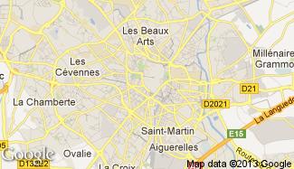 Plan de Montpellier