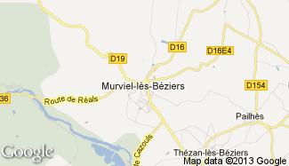 Plan de Murviel-lès-Béziers