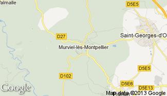 Plan de Murviel-lès-Montpellier