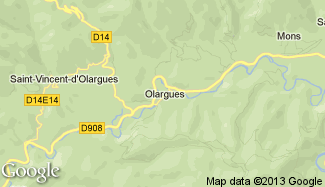 Plan de Olargues