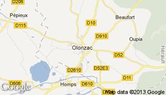 Plan de Olonzac