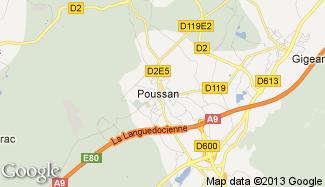 Plan de Poussan