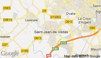 Plan de Saint-Jean-de-Védas