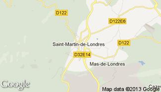 Plan de Saint-Martin-de-Londres
